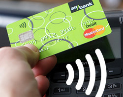 Bezkontaktní platební karty Air Bank