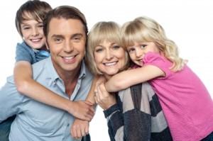 šťasná rodina