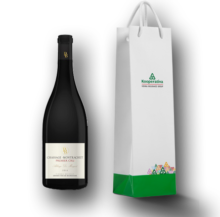 reklamní předmět tiché víno