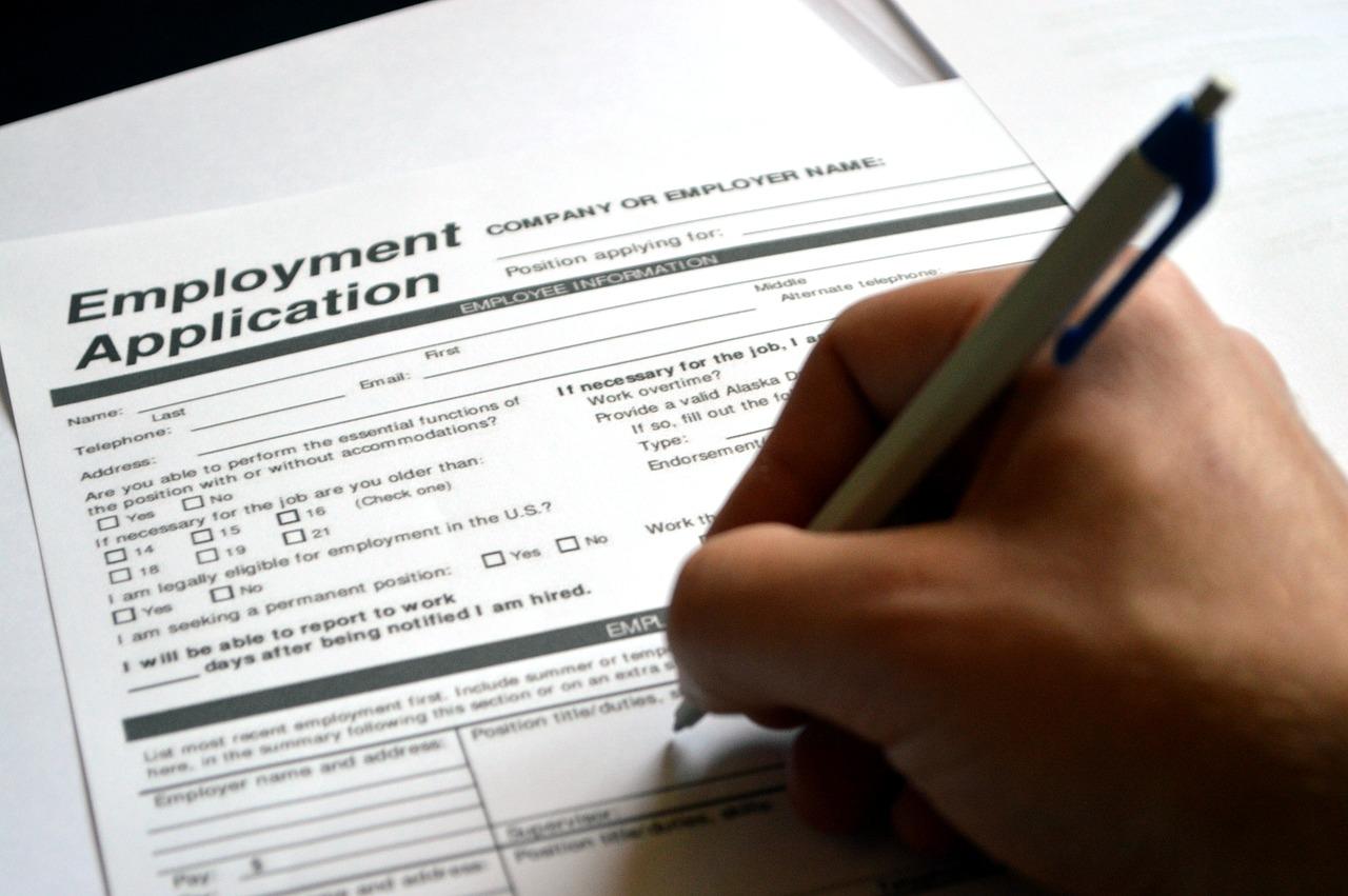 online formulář